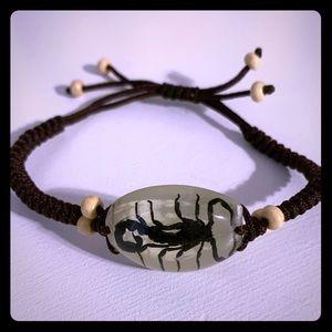 Box Knot (Real) Scorpion Bracelet